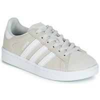 Sapatos Criança Sapatilhas adidas Originals CAMPUS C Cinza