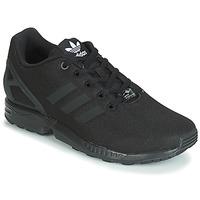 Sapatos Rapaz Sapatilhas adidas Originals ZX FLUX J Preto