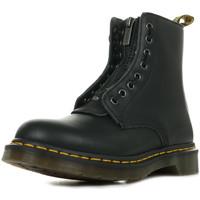 Sapatos Mulher Botas baixas Dr Martens 1460 Pascal Front ZIP Preto