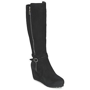 Sapatos Mulher Botas Moda In Pelle SITA Preto