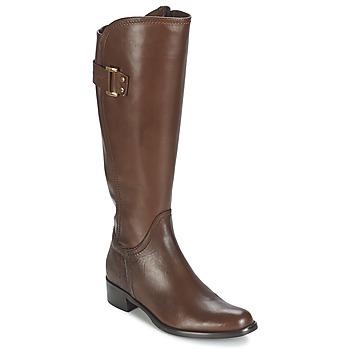 Sapatos Mulher Botas Moda In Pelle SANTOSA Castanho