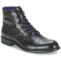 Sapatos Homem Botas baixas Azzaro EPICOR Preto