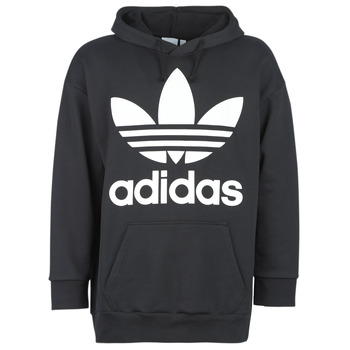 Textil Homem Sweats adidas Originals TREF OVER HOOD Preto
