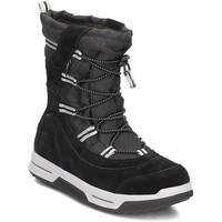 Sapatos Criança Botas de neve Timberland Snow Stomper Pull ON WP Preto