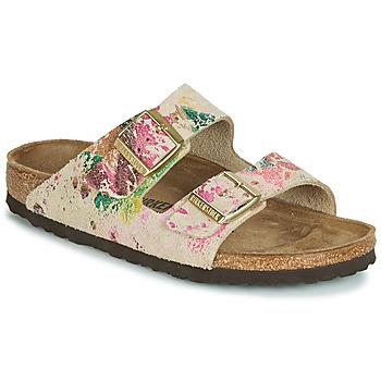 Sapatos Mulher Chinelos Birkenstock ARIZONA Bege
