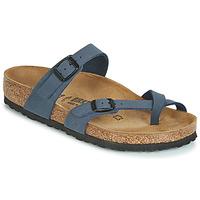 Sapatos Mulher Chinelos Birkenstock MAYARI Marinho