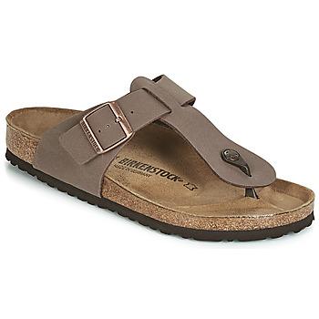 Sapatos Homem Chinelos Birkenstock MEDINA Castanho