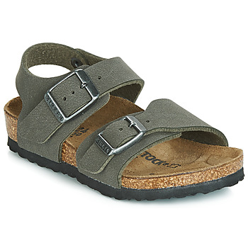 Sapatos Rapaz Sandálias Birkenstock NEW YORK Cinza