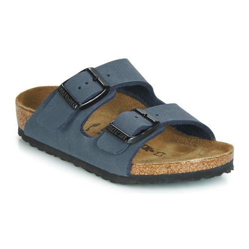 Sapatos Rapaz Chinelos Birkenstock ARIZONA Navy