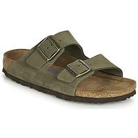 Sapatos Mulher Chinelos Birkenstock ARIZONA SFB Cáqui