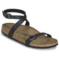 Sapatos Mulher Sandálias Birkenstock DALOA Preto