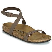 Sapatos Mulher Sandálias Birkenstock DALOA Castanho