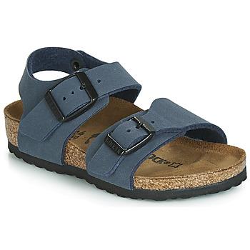 Sapatos Rapaz Sandálias Birkenstock NEW YORK Marinho