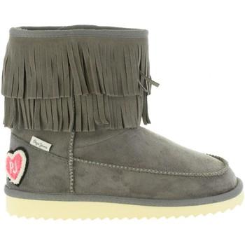 Sapatos Rapariga Botas de neve Pepe jeans PGS50134 ANGEL Gris