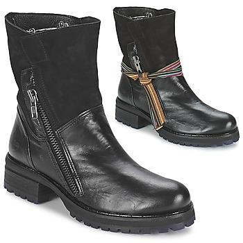 Sapatos Mulher Botas baixas Felmini CLARA Preto