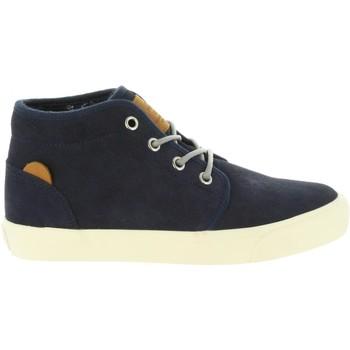 Sapatos Rapaz Sapatilhas de cano-alto Pepe jeans PBS30379 TRAVELER Azul