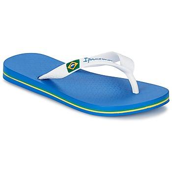 Sapatos Rapaz Chinelos Ipanema CLASSICA BRASIL II KIDS Azul / Branco