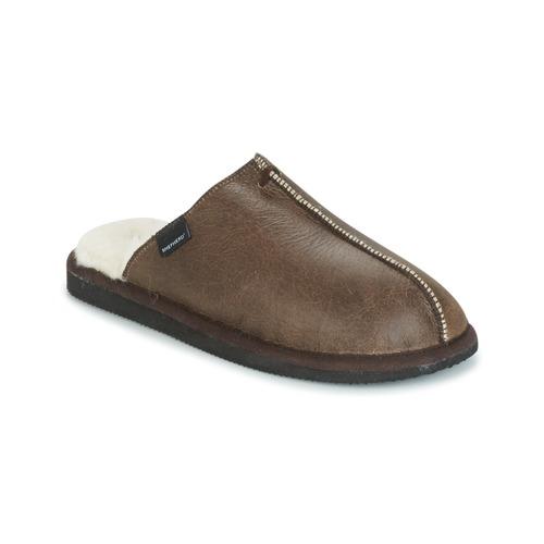 Sapatos Homem Chinelos Shepherd HUGO Castanho