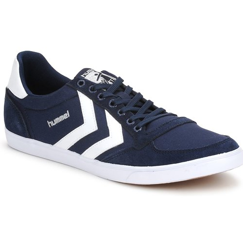 Sapatos Sapatilhas Hummel TEN STAR LOW CANVAS Marinho