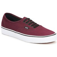 Sapatos Sapatilhas Vans AUTHENTIC Bordô