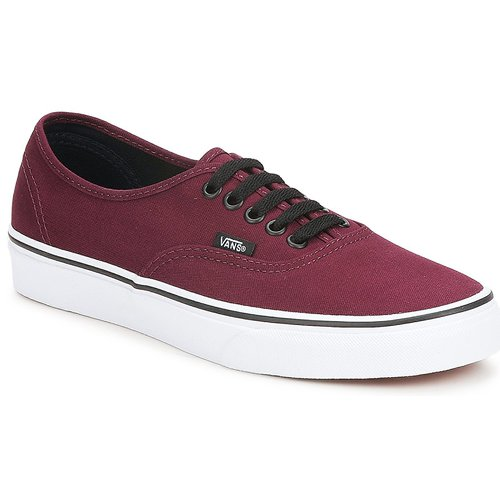 24db70ba234 Vans AUTHENTIC Bordô - Entrega gratuita com a Spartoo.pt ! - Sapatos ...