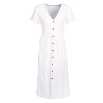 Textil Mulher Vestidos compridos Betty London KIGAGE Branco