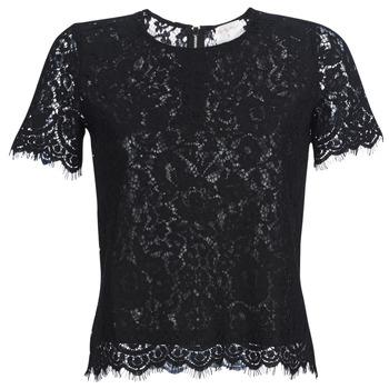 Textil Mulher Tops / Blusas Moony Mood KEMI Preto