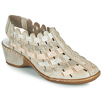 Sapatos Mulher Sandálias Rieker ROBERTO Prata
