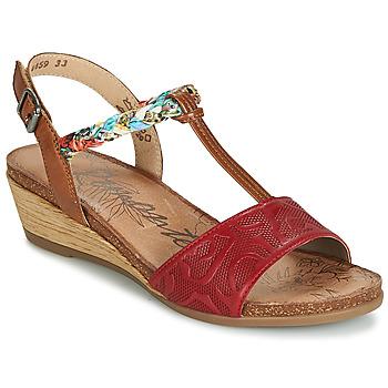 Sapatos Mulher Sandálias Remonte Dorndorf MIJUS Vermelho