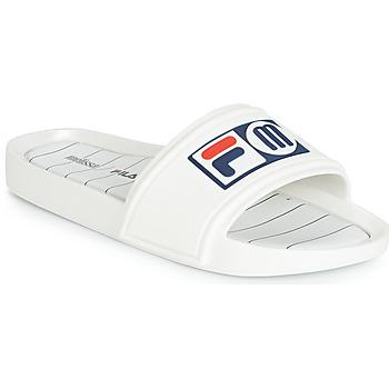 Sapatos Mulher chinelos Melissa SLIDE + FILA Branco