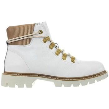 Sapatos Mulher Botas baixas Caterpillar Handshake W Branco, Cor bege