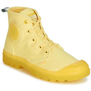 Sapatos Mulher Botas baixas Palladium PAMPALICIOUS Amarelo