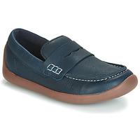 Sapatos Criança Mocassins Clarks ArtistStride K Marinho