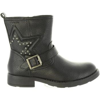 Sapatos Rapariga Botas Geox J74D3C 000BU J SOFIA Negro
