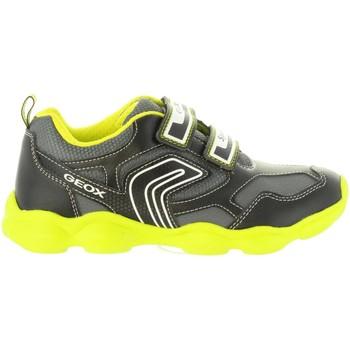 Sapatos Rapaz Sapatilhas Geox J844BA 0BU11 J MUNFREY Negro