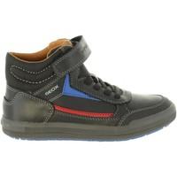 Sapatos Rapaz Botas baixas Geox J844AA 0BCCL J ARZACH Negro