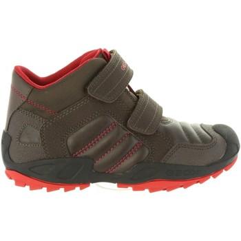 Sapatos Rapaz Botas baixas Geox J841VC 054CE J SAVAGE Marrón