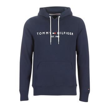 Textil Homem Sweats Tommy Hilfiger TOMMY LOGO HOODY Marinho