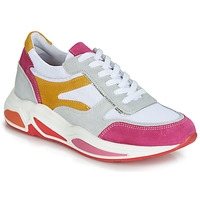 Sapatos Mulher Sapatilhas André ROLLO Branco / Rosa