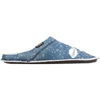 Sapatos Mulher Chinelos Crocs GRAPHIC SLIPPER 204565-410 blue