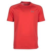 Textil Homem T-Shirt mangas curtas Under Armour TECH 2.0 SS TEE Vermelho
