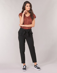 Textil Mulher Chinos Only ONLNICOLE Preto