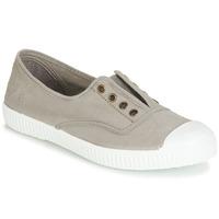 Sapatos Sapatilhas Victoria INGLESA ELASTICO TINTADA Cinza
