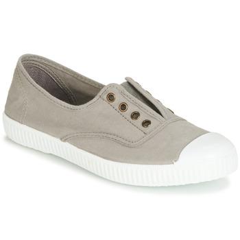 Sapatos Mulher Sapatilhas Victoria 6623 GRIS Cinza