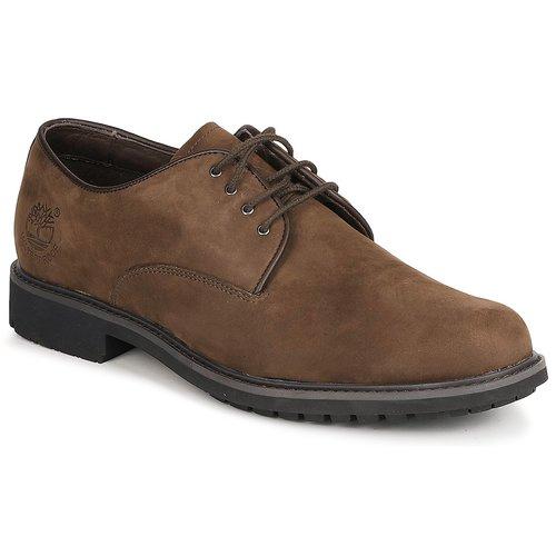 Sapatos Homem Sapatos Timberland EK STORMBUCK PLAIN TOE OXFORD Castanho