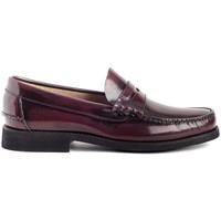 Sapatos Homem Mocassins Colour Feet OXFORD Vermelho