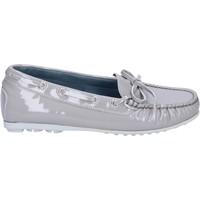Sapatos Mulher Mocassins K852 & Son Mocassins BT967 Cinza