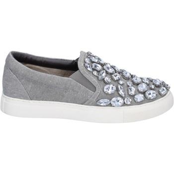 Sapatos Mulher Slip on Sara Lopez Sneakers BT992 Cinza