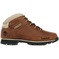 Sapatos Homem Botas baixas Timberland Euro Sprint Hiker Brown Castanho