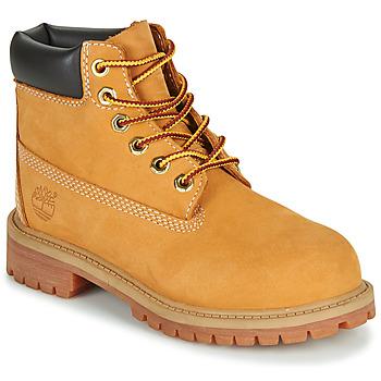 Sapatos Criança Botas baixas Timberland 6 IN PREMIUM WP BOOT Bege